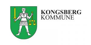 Kongsberg kommune. Logo.